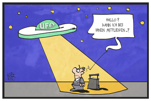 Cartoon: UFO-Streik bei Eurowings (medium) by Kostas Koufogiorgos tagged karikatur,koufogiorgos,illustration,cartoon,ufo,streik,flugbegleiter,passagier,fluggast,fliegen,arbeitskampf,eurowings,karikatur,koufogiorgos,illustration,cartoon,ufo,streik,flugbegleiter,passagier,fluggast,fliegen,arbeitskampf,eurowings