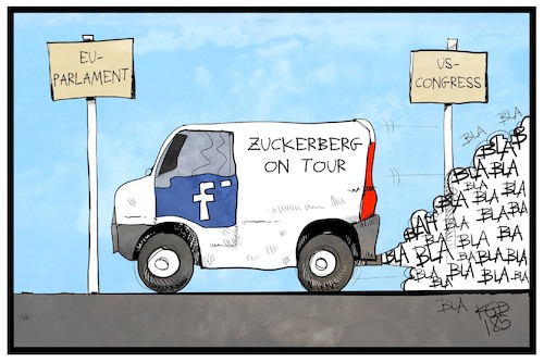 Zuckerberg on Tour