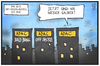 Cartoon: ADAC (small) by Kostas Koufogiorgos tagged karikatur,koufogiorgos,illustration,cartoon,adac,automobil,club,säule,modell,bad,bank,off,shore,reform,verein