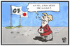 Cartoon: G7 in Japan (small) by Kostas Koufogiorgos tagged karikatur,koufogiorgos,illustration,cartoon,g7,japan,merkel,klausur,politik,treffen