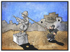 Cartoon: Irak (small) by Kostas Koufogiorgos tagged karikatur,koufogiorgos,cartoon,illustration,irak,usa,denkmal,sturz,isis,terrorismus,nahost,politik
