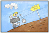 Cartoon: Kinderarmut (small) by Kostas Koufogiorgos tagged karikatur,koufogiorgos,illustration,cartoon,kinderarmut,hartz,iv,kinderwagen,kindheit