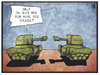 Cartoon: Militärputsch (small) by Kostas Koufogiorgos tagged karikatur,koufogiorgos,illustration,cartoon,thailand,ägypten,putsch,militär,armee,panzer,politik,konflikt,regierung,machtergreifung