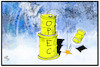 Cartoon: OPEC (small) by Kostas Koufogiorgos tagged karikatur,koufogiorgos,illustration,cartoon,opec,katar,öl,kartell,ölförderung,energie,rohstoff