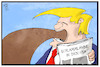 Cartoon: Schlammlawine USA (small) by Kostas Koufogiorgos tagged karikatur,koufogiorgos,illustration,cartoon,usa,trump,schlamm,lawine,naturkatastrophe,umwelt,kalifornien