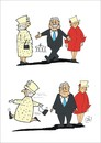 Cartoon: Schreck am Morgen (small) by JotKa tagged staatsbesuch,queen,elisabeth,königin,england,monarchie,berlin,gauck,staatsempfang
