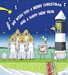 Cartoon: Seasons Greetings (small) by JotKa tagged weihnachten,christmas,xmas,neujahr,new,year,feiertage,holidays