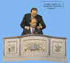 Cartoon: Legittimo Impedimento (small) by azamponi tagged berlusconi,costituzione,italiana,politica