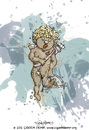 Cartoon: EROS (small) by CIGDEM DEMIR tagged eros,love