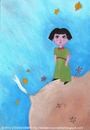 Cartoon: The Little Prince Asli (small) by CIGDEM DEMIR tagged asli,yucel,cigdem,demir,2010,the,little,princess,book,woman