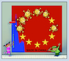 Cartoon: virus china (small) by kurtu tagged virus,china