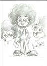 Cartoon: character design (small) by Amal Samir tagged character,design,cartoon,drawings,kids,pencil