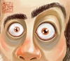 Cartoon: Take a lo00ok (small) by Amal Samir tagged cartoon,illustration,painting,drawing,man,look