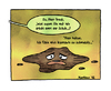 Cartoon: Dreck... (small) by martinchen tagged dreck,fleck