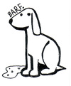 Cartoon: Barf. (small) by Peter Russel tagged dog,barf