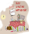 Cartoon: Happy New Year (small) by paraistvan tagged happy,new,year