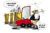 Cartoon: Landlich Village people (small) by paraistvan tagged landlich,village,religion,mechanic,redneck,car,serviceman