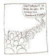 Cartoon: Abgelehnter Cartoon - Wallfahrt (small) by Tobias Wieland tagged tobias,wieland,neid,wallfahrt,bibel