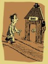 Cartoon: bank (small) by Medi Belortaja tagged bank despoiler