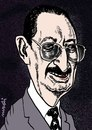 Cartoon: bulent ecevit (small) by Medi Belortaja tagged bulent,ecevit