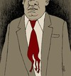 Cartoon: diabolic tie (small) by Medi Belortaja tagged didabolic,tie,power,man,politicians,corruption