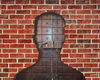 Cartoon: fb profile (small) by Medi Belortaja tagged facebook,profile,gate,brick,wal,key,man,people,internet