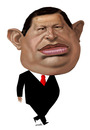 Cartoon: Hugo Chavez (small) by Medi Belortaja tagged hugo,chavez,president,venezuela