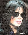 Cartoon: michael (small) by Medi Belortaja tagged michael jackson