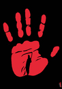 Cartoon: superstition (small) by Medi Belortaja tagged superstition,hand,died,death
