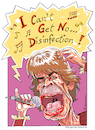 Cartoon: Shortage (small) by Riemann tagged corona,virus,hygiene,disinfection,krise,pandemie,desinfizieren,mick,jagger,rolling,stones,satisfaction,musik,gesundheit,health,wortspiel,wordplay,cartoon,george,riemann