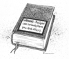 Cartoon: Warning (small) by Riemann tagged religion,hate,violence,intolerance,health,warning,label,cartoon,george,riemann