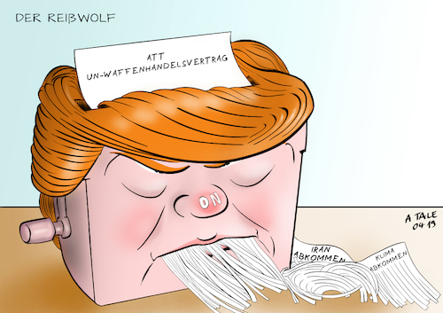 Reißwolf Trump