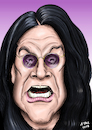 Cartoon: Ozzy Osbourne  Karikatur (small) by A Tale tagged ozzy,osbourne,70,geburtstag,heavy,metal,black,sabbath,sänger,britischer,rockmusiker,prince,of,darkness,godfather,karikatur,caricature,gesicht,porträt,portrait,zeichnung,bild,cartoon,pressezeichnung,illustration,tale,agostino,natale