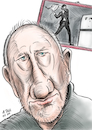 Cartoon: Pete Townshend Karikatur (small) by A Tale tagged pete,townshend,the,who,songwriter,musiker,rockband,gitarre,leadgitarrist,hardrock,wegbereiter,heavy,metall,runder,geburtstag,karikatur,caricature,gesicht,porträt,bild,cartoon,pressezeichnung,illustration,tale,agostino,natale