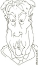 Cartoon: Frankie Howard (small) by Andyp57 tagged caricature,wacom,painter