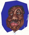 Cartoon: Muddy Waters (small) by Andyp57 tagged caricature,gouache