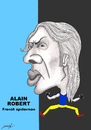 Cartoon: ALAIN ROBERT (small) by serkan surek tagged surekcartoons