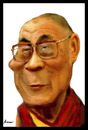 Cartoon: Dalai Lama (small) by Amauri Alves tagged photoshop digital dalai lama