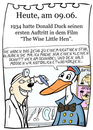 Cartoon: 9. Juni (small) by chronicartoons tagged donald,duck,disney,toon,zeichentrick,entenhausen,schönheitsoperaion