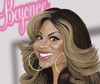 Cartoon: Beyonce (small) by Darrell tagged beyonce,darrellthompson