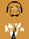 Cartoon: I love kubizm (small) by Martynas Juchnevicius tagged salvador,dali,cubism,art,artist,people,painter,surealism,spanish,illustration