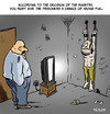 Cartoon: Prisoner (small) by tejlor tagged prisoner,tv