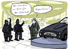 Cartoon: Mehrtürer (small) by kittihawk tagged kittihawk,2015,terror,islamismus,dschihad,islamisten,attentat,auto,für,den,autohaus,verkäufer,limousine,märtyrer,mehrtürer,kunden,kalaschnikow,vermummt