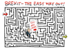 Cartoon: May will Brexit Deal retten (small) by Schwarwel tagged theresa,may,brexit,england,großbritannien,great,britain,engländer,british,premierministerin,eu,europäische,union,europa,cartoon,karikatur,schwarwel