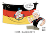 Cartoon: Steinmeier Bundespräsident (small) by Schwarwel tagged steinmeier,bundespräsident,wahl,popeye,anker,der,hoffnung,spinat,bundespräsidentenwahl,karikatur,schwarwel