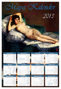 Cartoon: Maya Kalender 2013 (small) by edda von sinnen tagged maya,kalender,pin,up,francisco,zenundsenf,zensenf,zenf,andi,walter,goya,calendar,2013,weltuntergang,illustration,edda,von,sinnen