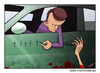 Cartoon: The Driver (small) by tinotoons tagged driver,accident,help,car