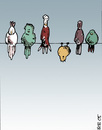 Cartoon: birds (small) by bob tagged vögel birds