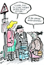 Cartoon: jaa nee (small) by bob tagged mutter,tschüss,schade