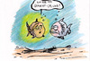 Cartoon: Pipi gemacht (small) by bob tagged fische